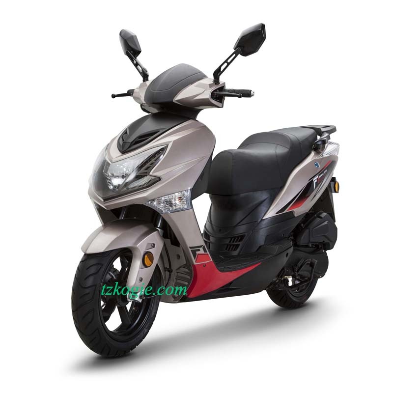 Gasoline scooter 13 inch wheel moped sport scooter fmx E4 euro4 EFI