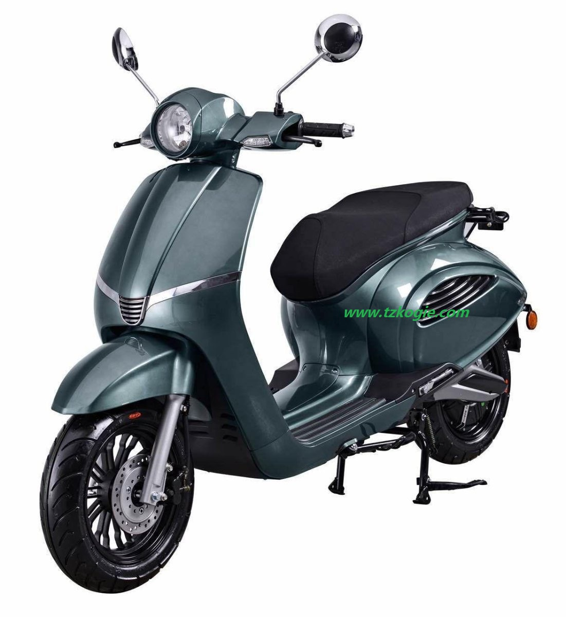 Vespa Electric Scooter >> Electric Scooter Retro Style Scooter Vespa Battery Power
